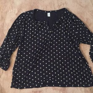 Old navy black shirt xxl
